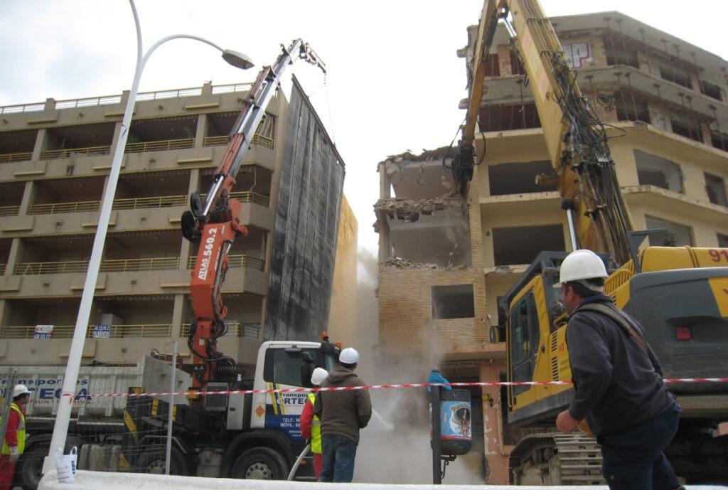 Arquitectura - Proyectos de demolición